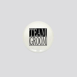 Team Groom -- Wedding Day Mini Button